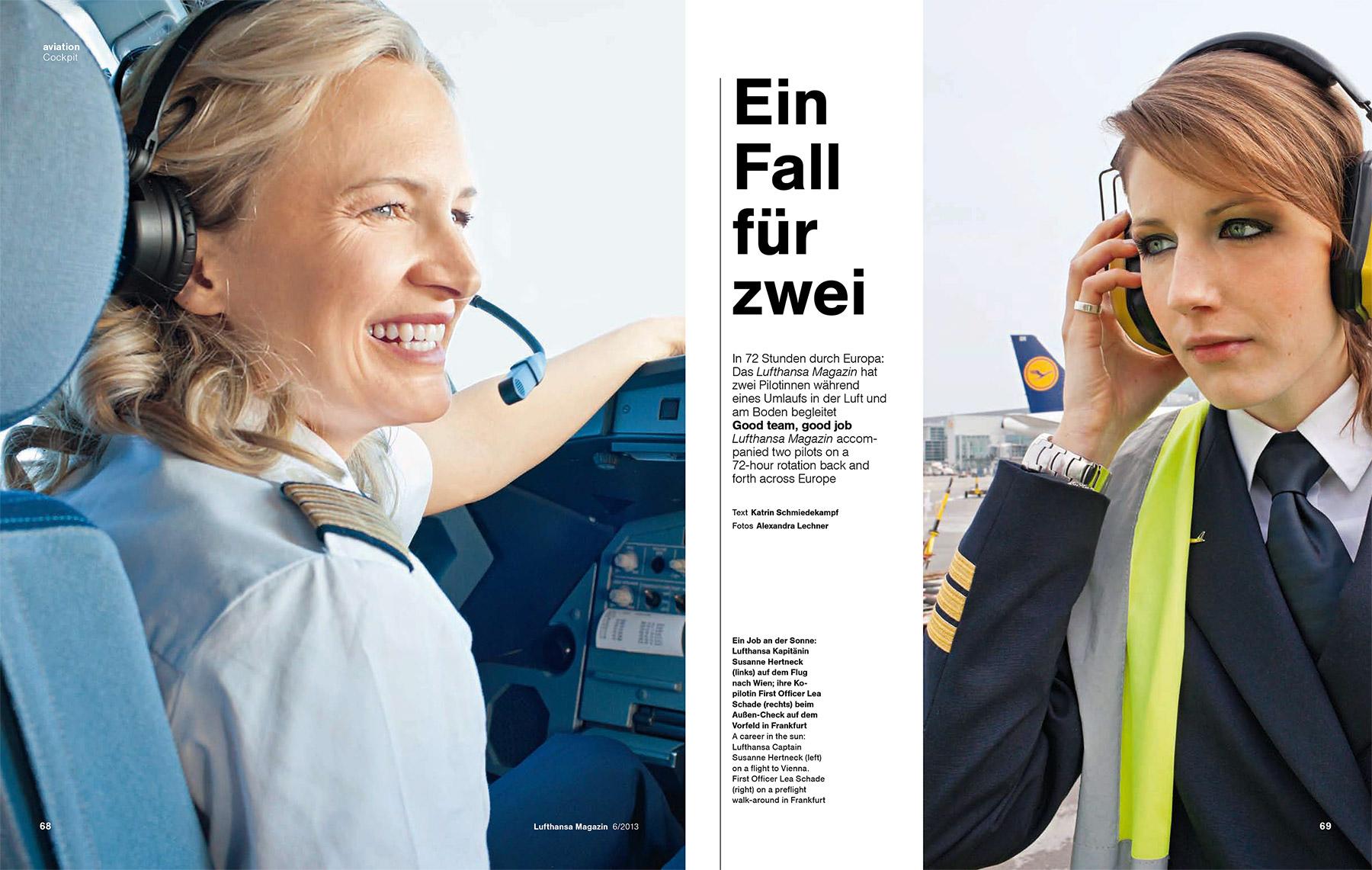 Businessfotografie Reportagefotografie Corporate Fotografie Business Portrait Pilotin