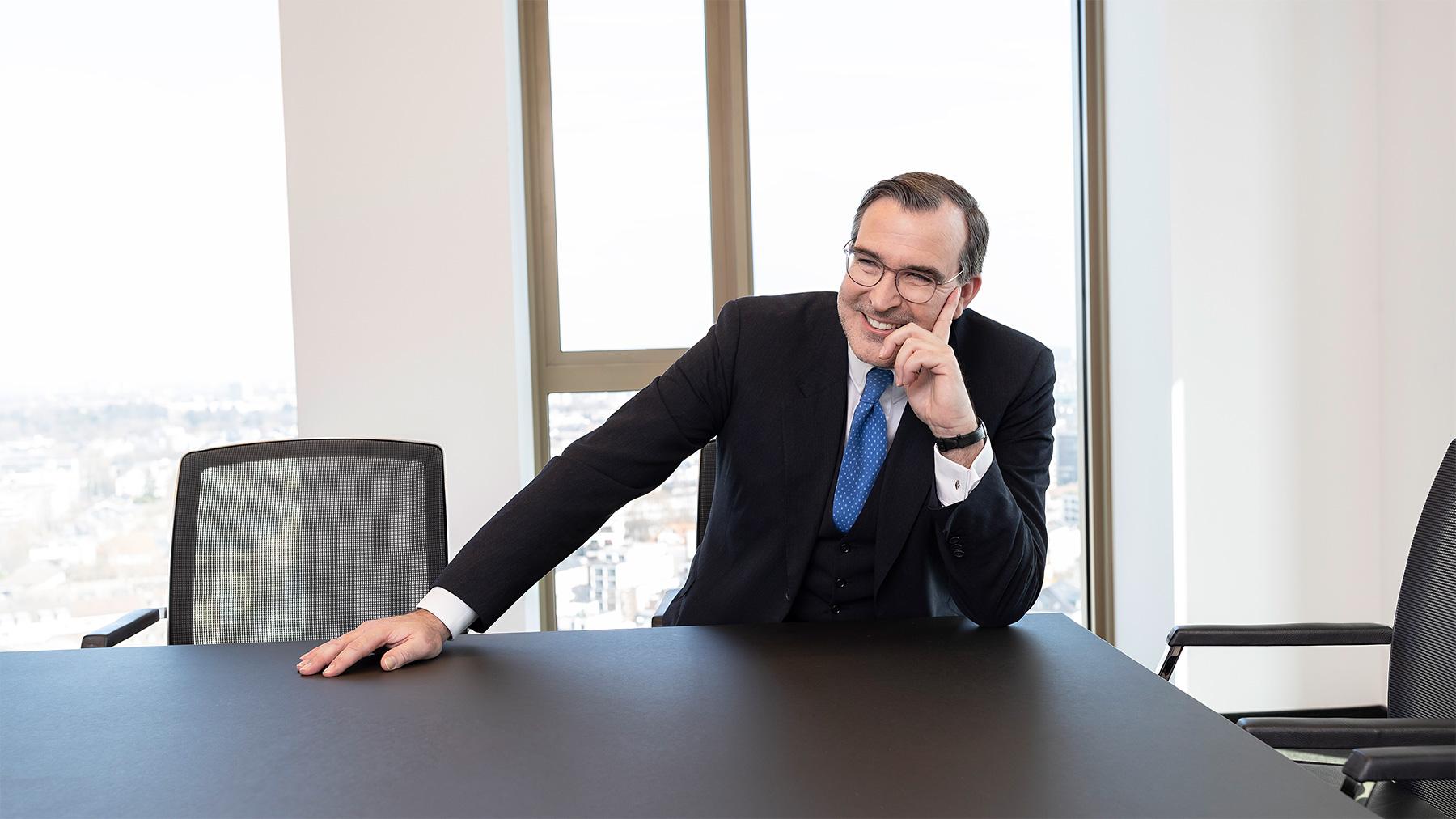 Businessfotografie Frankfurt CEO Portrait Corporate Photography